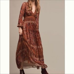 Anthropologie Ceret Maxi Dress by Ranna Gill